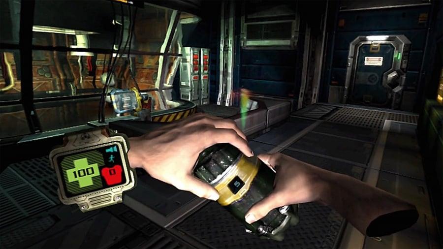 Doom 3: VR Edition Review - Screenshot 1 of 8