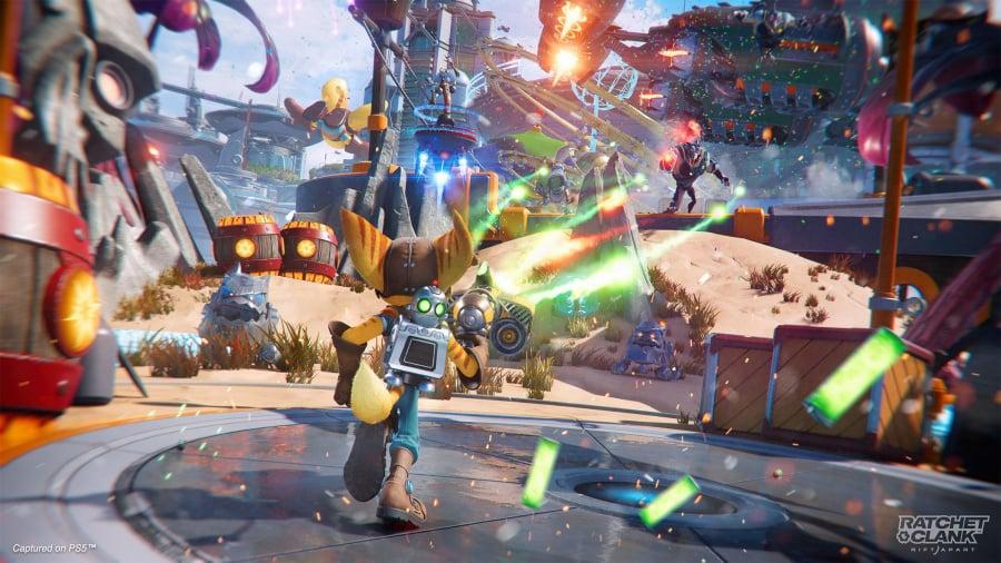 Ratchet & Clank: Rift Apart Review - Screenshot 1 of 4