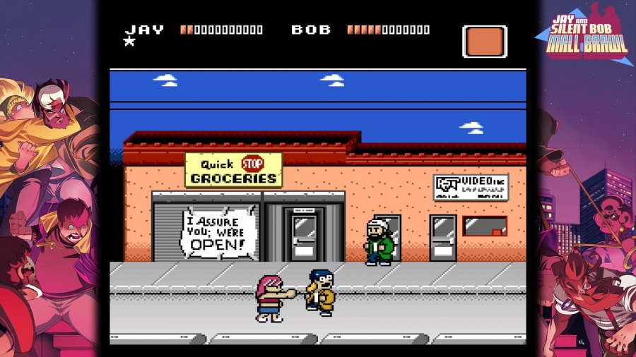 Jay and Silent Bob: Mall Brawl Review - Screenshot 1 of 8