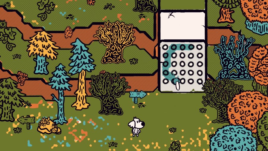 Chicory: A Colorful Tale Review - Screenshot 1 of 8