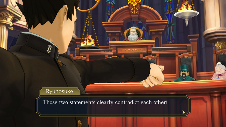 The Great Ace Attorney Chronicles Review - Screenshot 1 of 4