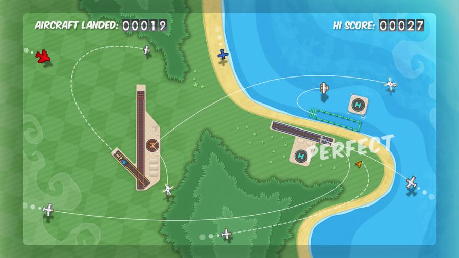 Flight Control HD Review - Screenshot 1 of 3