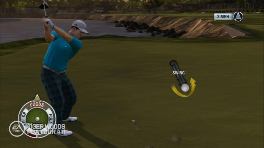 Tiger Woods PGA Tour 11 Review - Screenshot 1 of 4