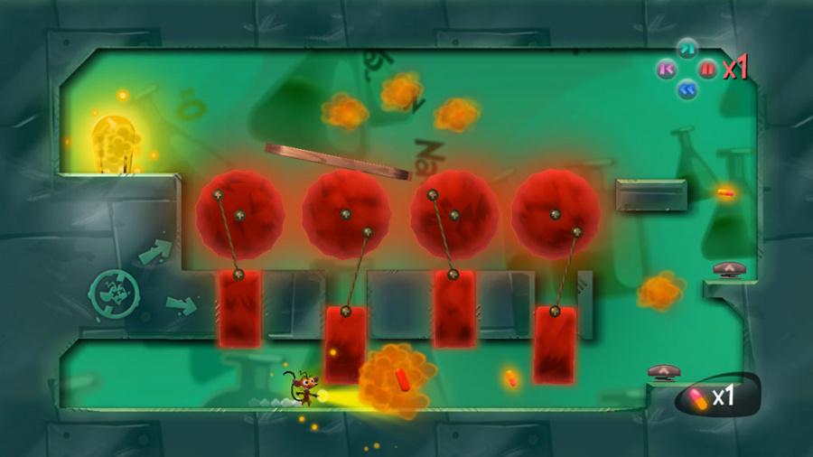 Funky Lab Rat Review - Screenshot 1 of 3