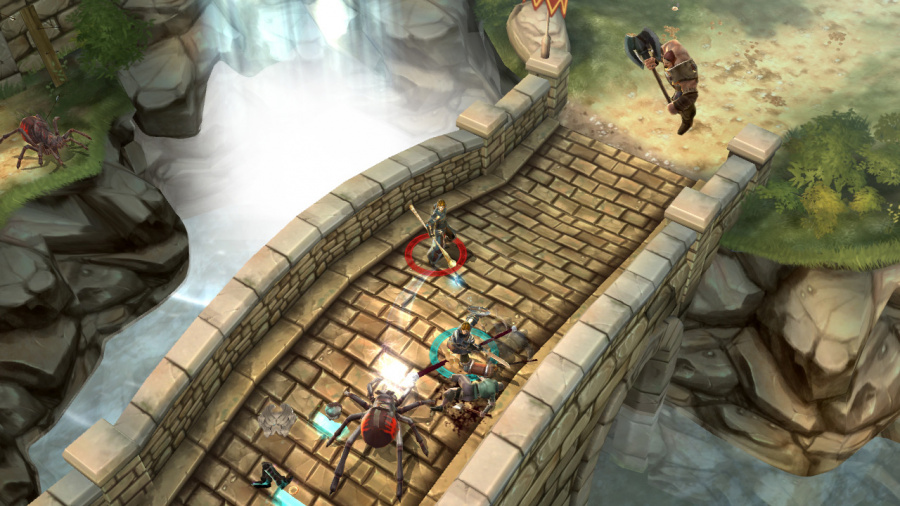 Dungeon Hunter: Alliance Review - Screenshot 1 of 5