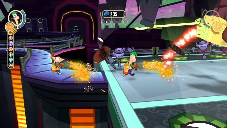 Phineas and Ferb: Across the Second Dimension Review - Screenshot 1 of 3