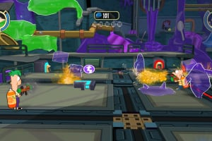 Phineas and Ferb: Across the Second Dimension Screenshot