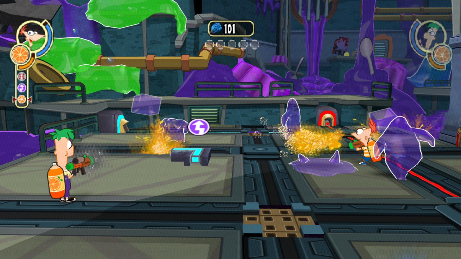 Phineas and Ferb: Across the 2nd Dimension - IGN