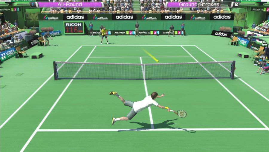 Virtua Tennis 4: World Tour Edition Review - Screenshot 5 of 7