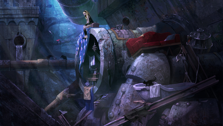 Gravity Rush Review - Screenshot 2 of 6