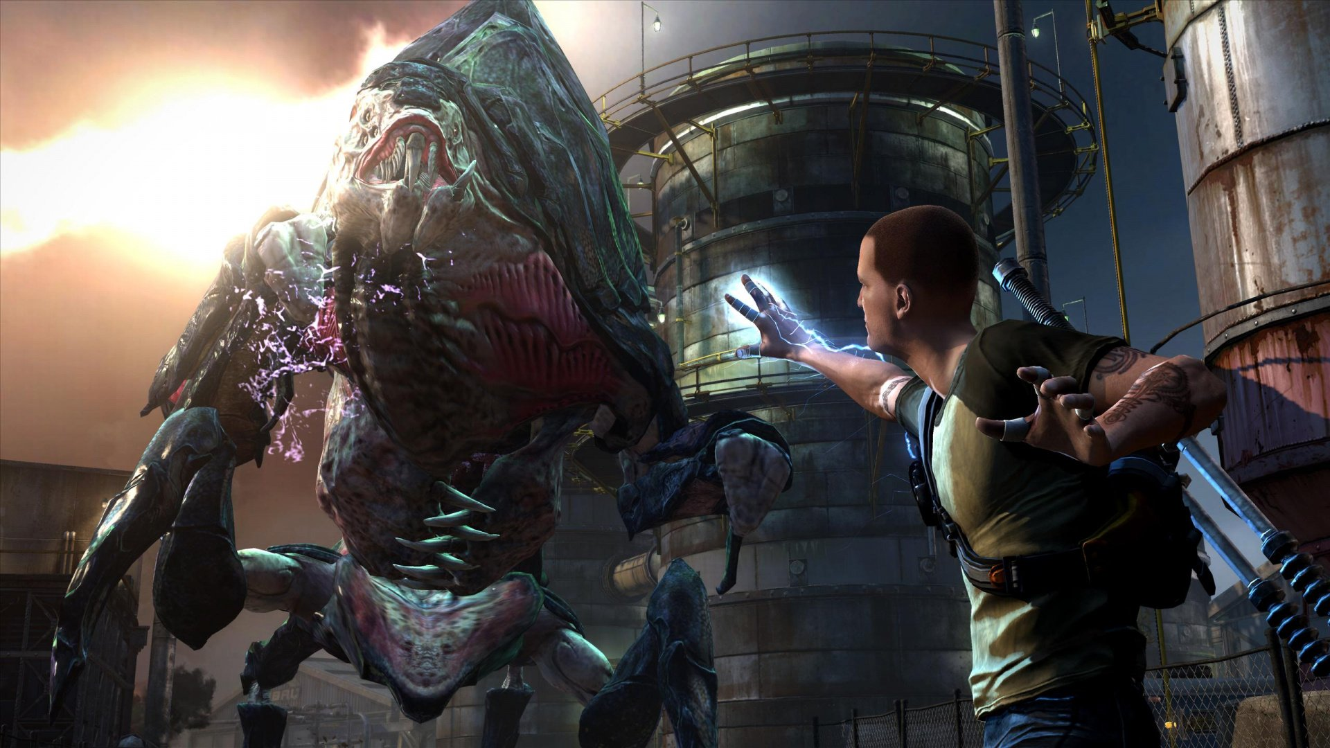 infamous 2  ps3    playstation 3  news  reviews  trailer