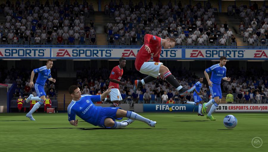 EA Sports FIFA Football Review - Screenshot 1 of 3