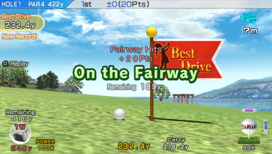 Hot Shots Golf: World Invitational Review - Screenshot 2 of 4