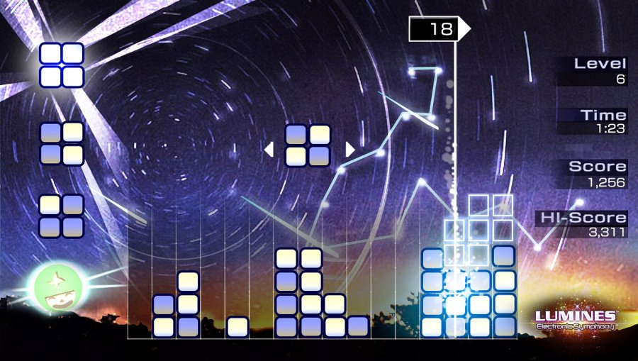 Lumines Electronic Symphony Review - Screenshot 4 of 4