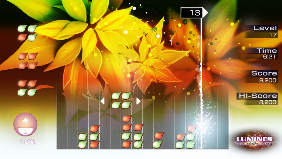 Lumines Electronic Symphony Review - Screenshot 2 of 4