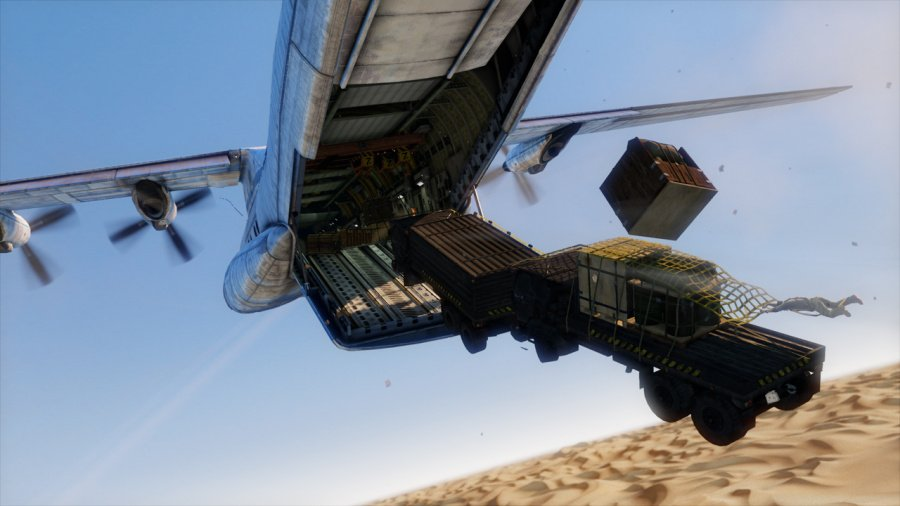 Uncharted 3: Drake's Deception Review - Screenshot 7 of 12