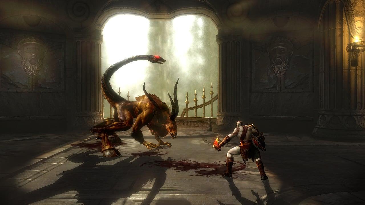 god of war 2 psp