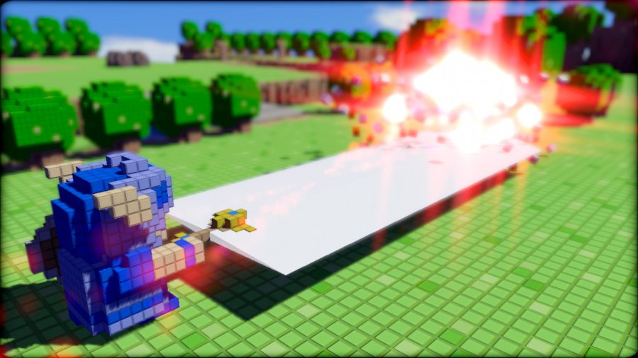 3D Dot Game Heroes Review - Screenshot 1 of 5