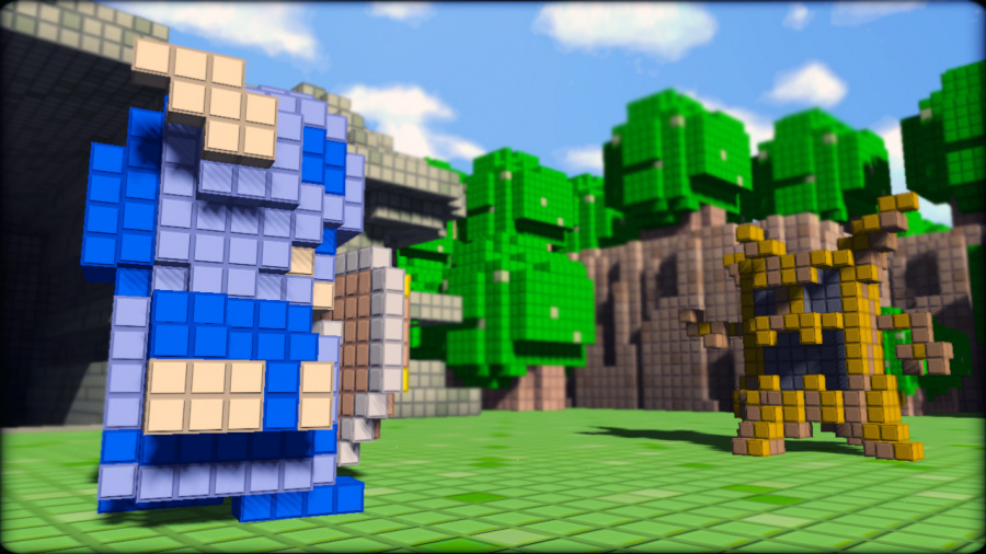 3D Dot Game Heroes Review - Screenshot 1 of 4