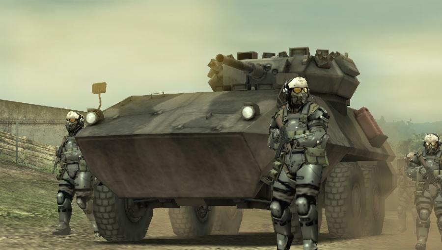 Metal Gear Solid: Peace Walker Review - Screenshot 3 of 5