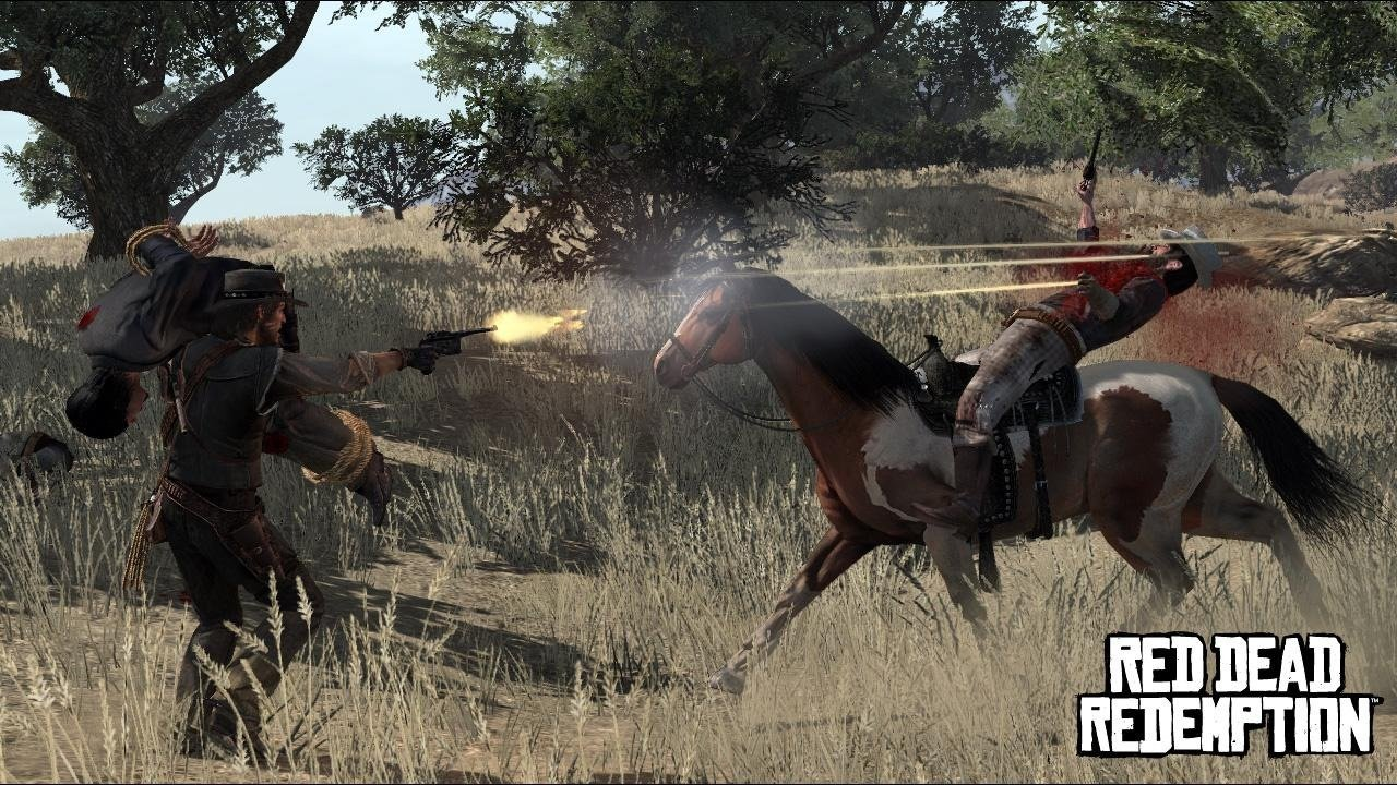 large Red dead redemption PAL Spanish [ PS3  ]