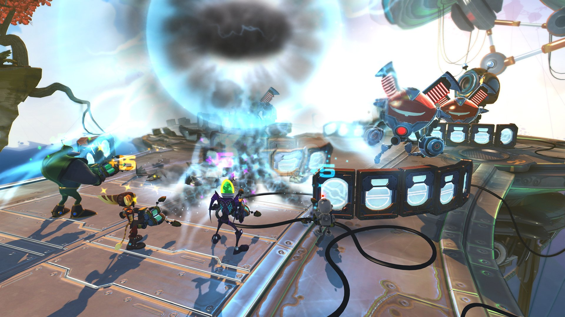 Ratchet Clank All 4 One Review Ps3 Push Square