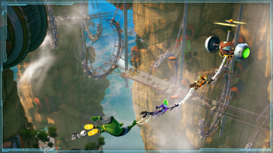 Ratchet & Clank: All 4 One Review - Screenshot 1 of 6