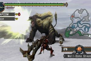 Monster Hunter Freedom Unite Screenshot