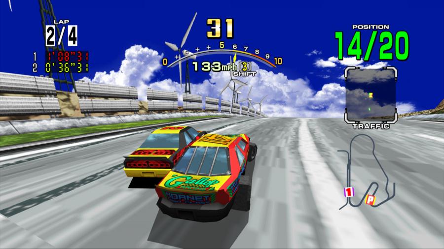 Daytona USA Review - Screenshot 1 of 4