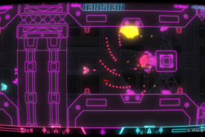 PixelJunk SideScroller Screenshot