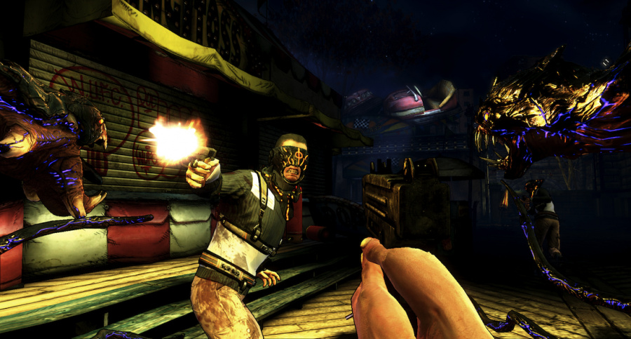 The Darkness II Review - Screenshot 3 of 8