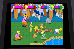 The Simpsons Arcade Game Screenshot