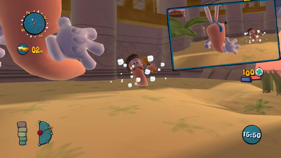 Worms Ultimate Mayhem Review - Screenshot 1 of 4
