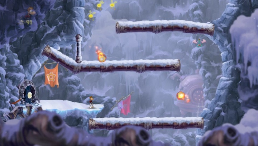 Rayman Origins Review - Screenshot 1 of 4