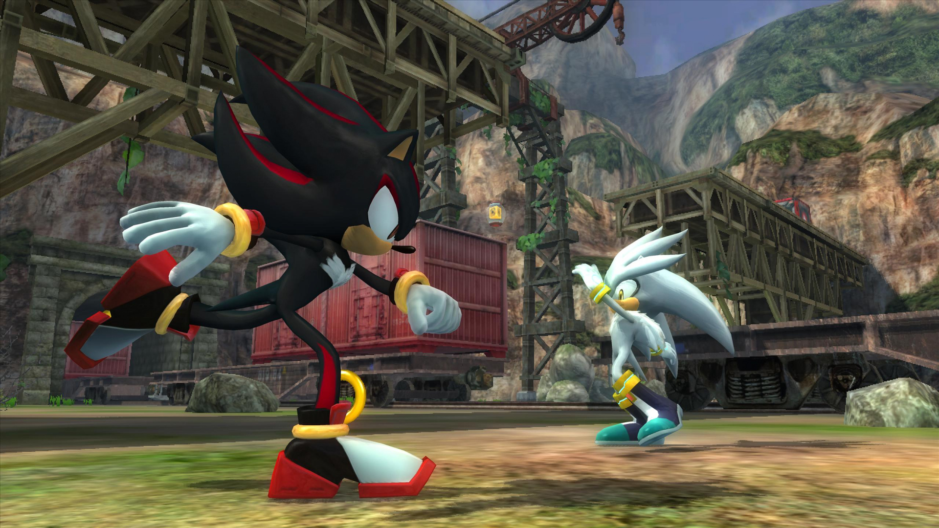 how to get shadow the hedgehog on ps3