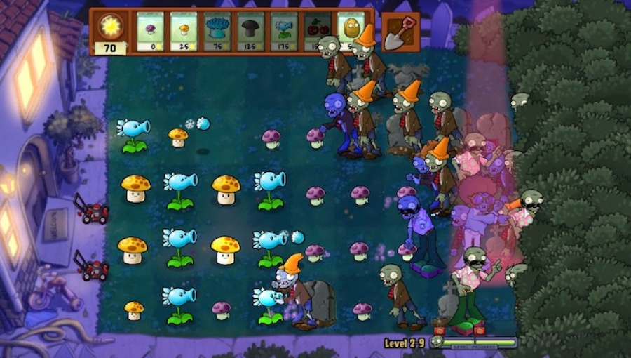 Plants vs. Zombies Review - Screenshot 2 of 3