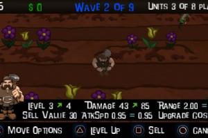 Defenders of the Mystic Garden Screenshot