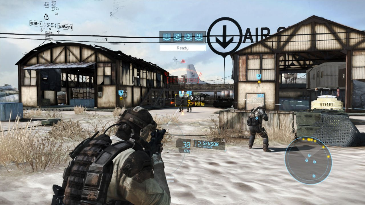 Tom Clancy S Ghost Recon Future Soldier Review Ps3