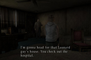 Silent Hill HD Collection Screenshot