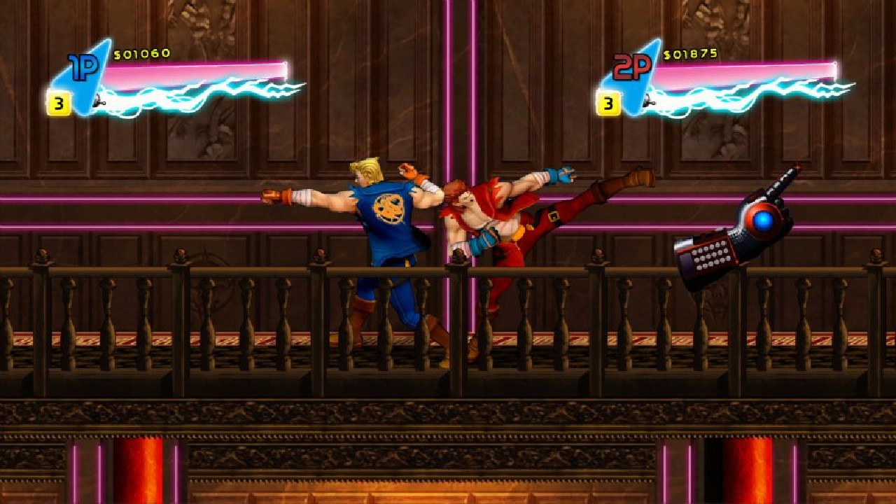 Double Dragon Neon Review Ps3 Push Square