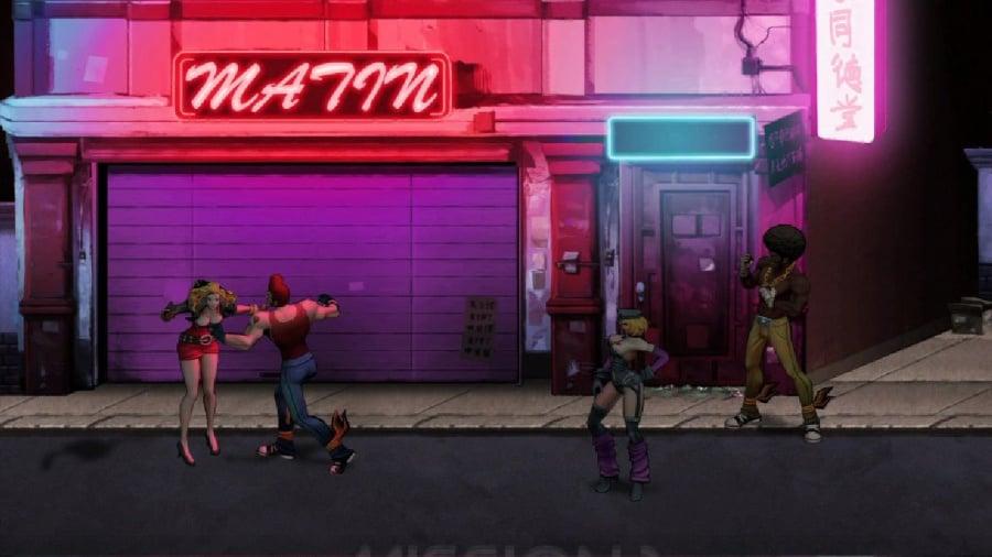 Double Dragon: Neon Review - Screenshot 3 of 3