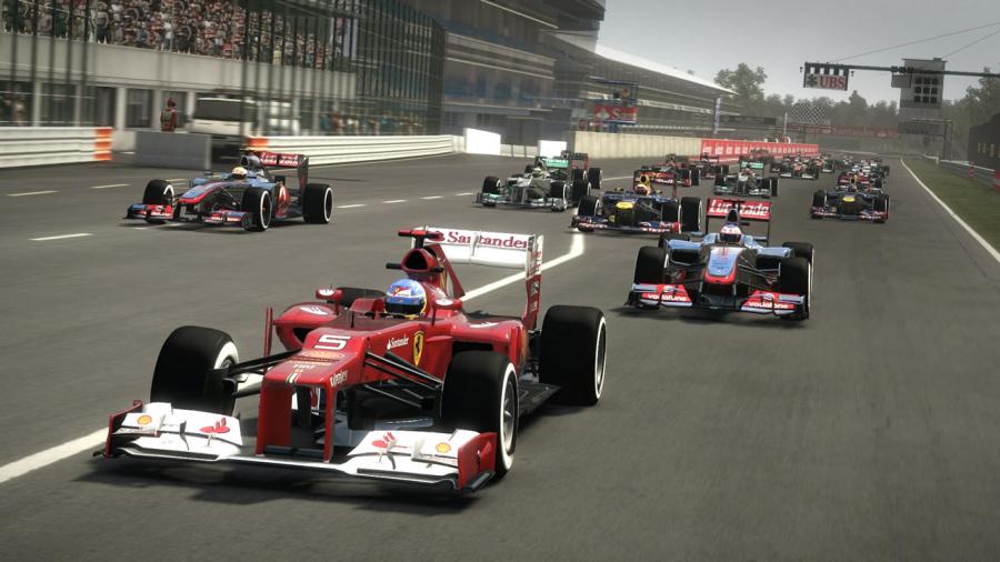 F1 2012 Review - Screenshot 1 of 5