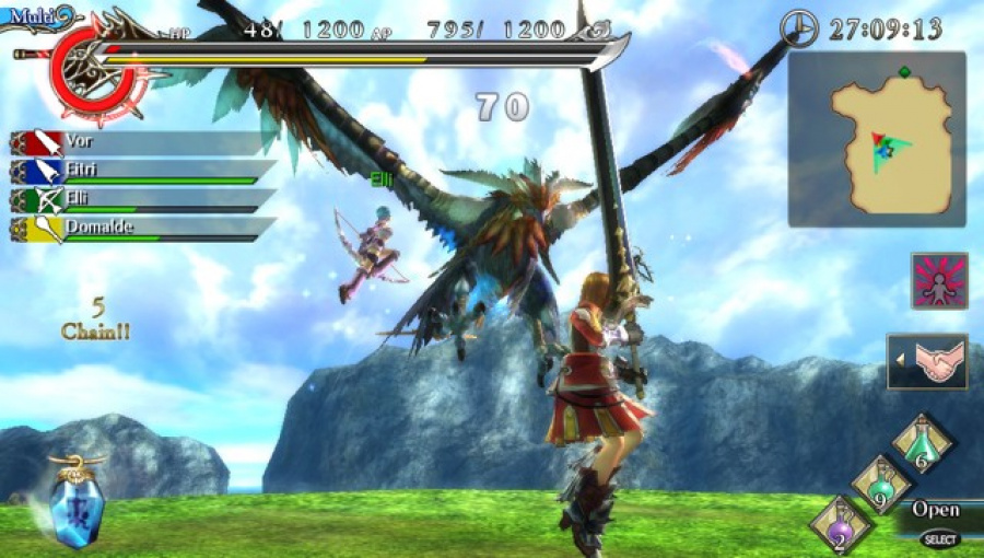 Ragnarok Odyssey Review - Screenshot 2 of 4