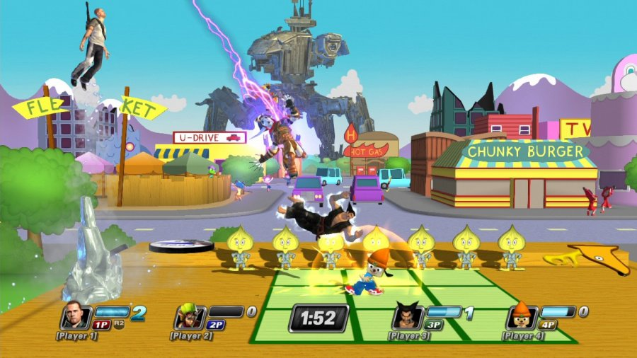 PlayStation All-Stars Battle Royale Review - Screenshot 7 of 9