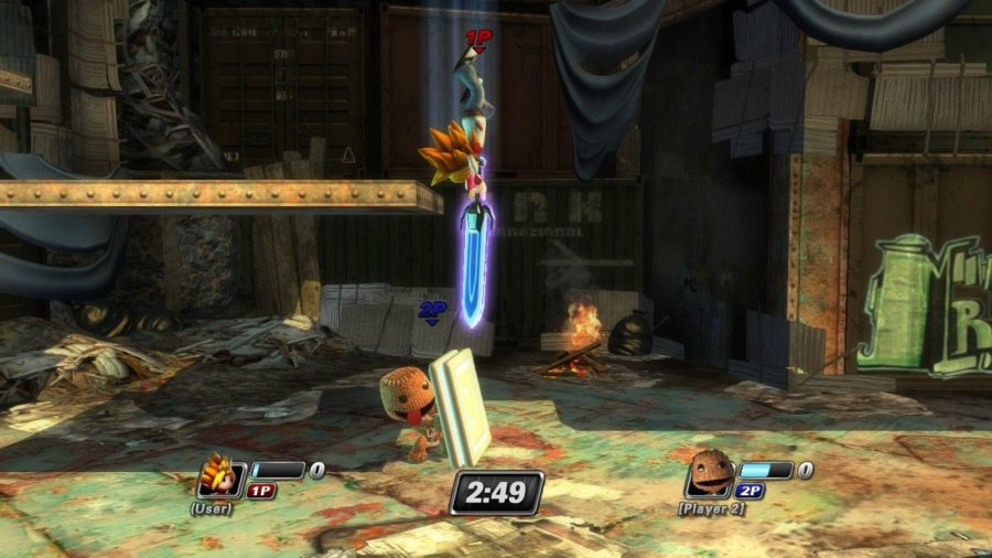 PlayStation All-Stars Battle Royale Review - Screenshot 4 of 9