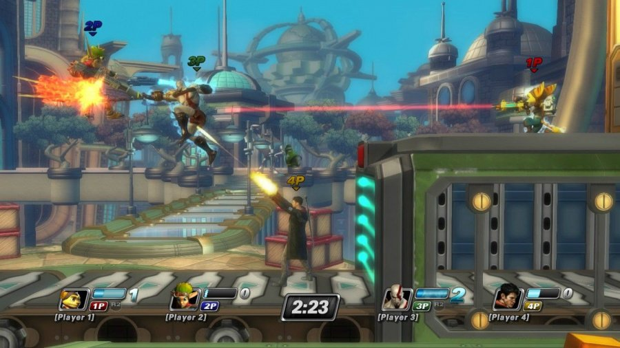 PlayStation All-Stars Battle Royale Review - Screenshot 3 of 9