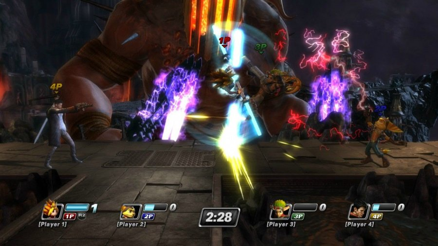 PlayStation All-Stars Battle Royale Review - Screenshot 1 of 8