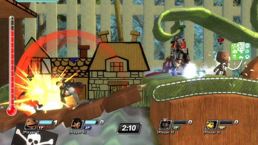PlayStation All-Stars Battle Royale Review - Screenshot 2 of 9
