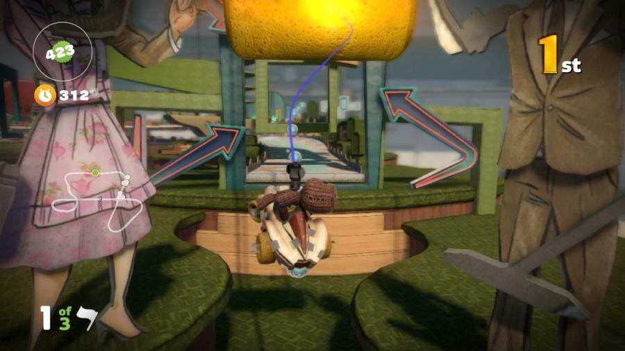 LittleBigPlanet Karting Review - Screenshot 3 of 3