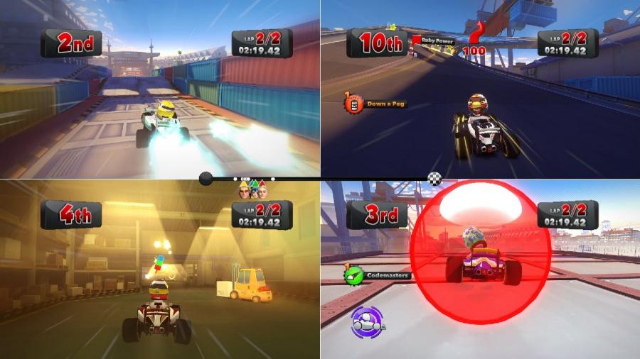 F1 Race Stars Review - Screenshot 2 of 5